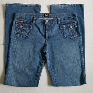 Dolce &Gabbana Wide Leg Jeans SZ 12